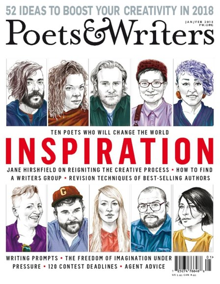 Poets & Writers Cover - 1/1/2018