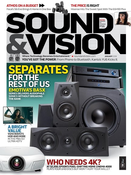 Sound & Vision Cover - 1/1/2018