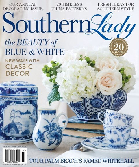 Southern Lady Cover - 1/1/2018