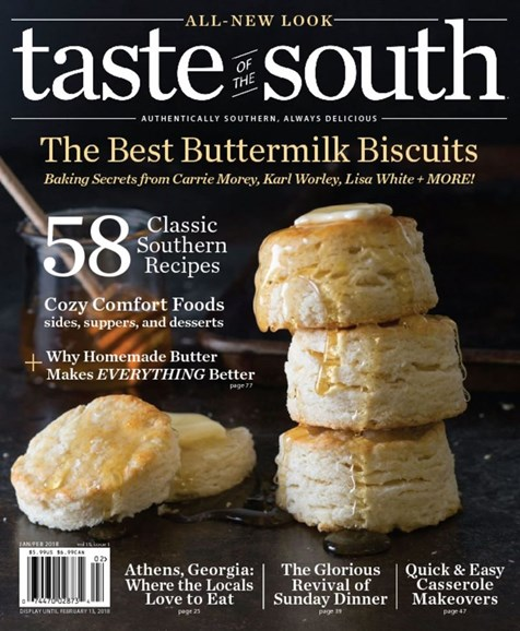Taste of the South Cover - 1/1/2018