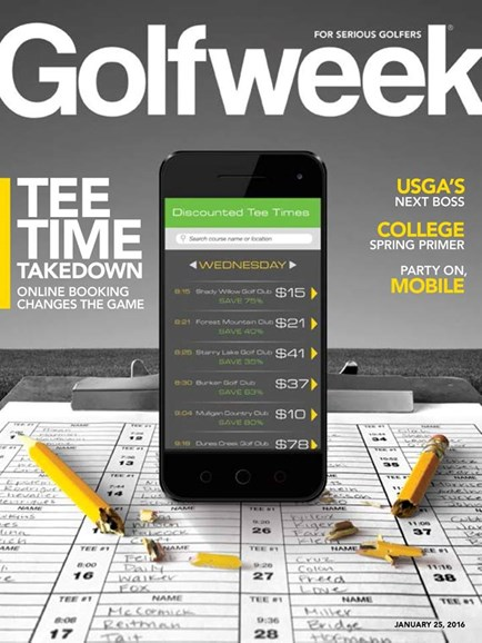 Golfweek Cover - 1/25/2016