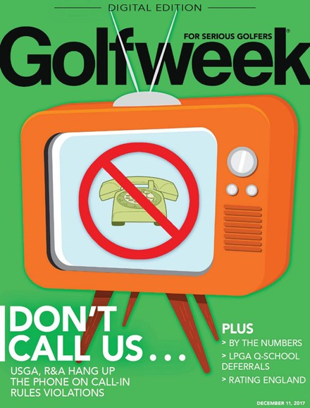 Golfweek Cover - 12/11/2017