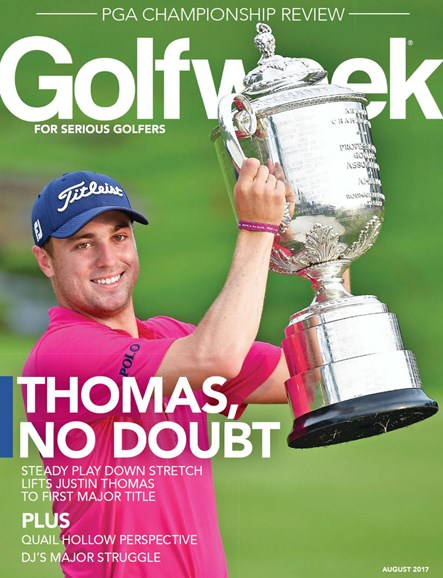 Golfweek Cover - 8/1/2017
