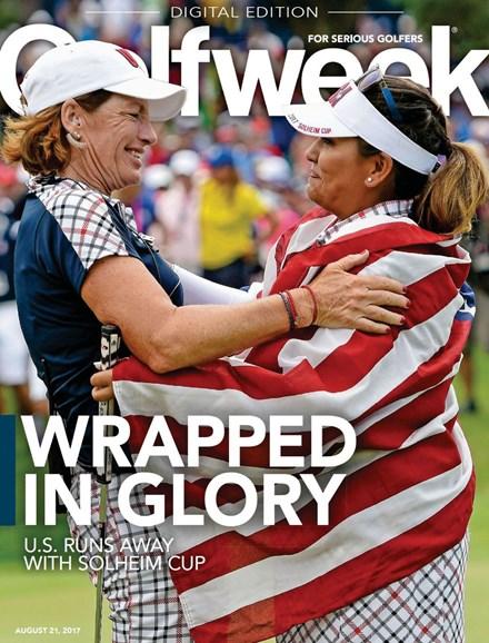 Golfweek Cover - 8/21/2017