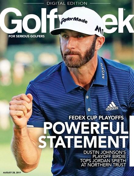Golfweek Cover - 8/28/2017