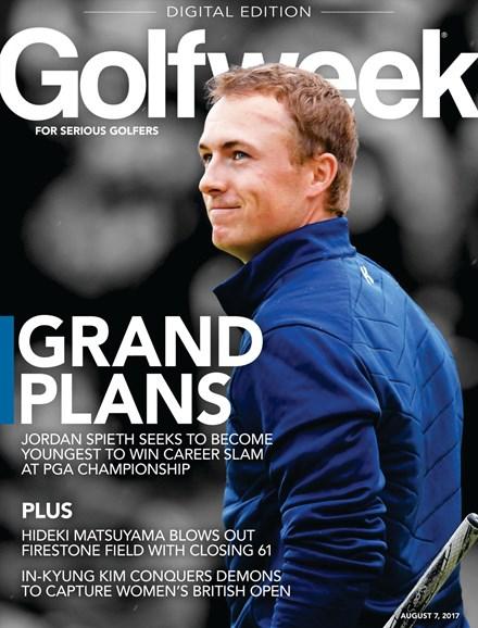Golfweek Cover - 8/7/2017