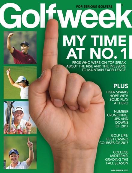 Golfweek Cover - 12/1/2017