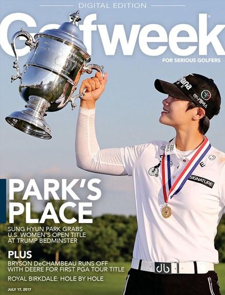 Golfweek Cover - 7/17/2017