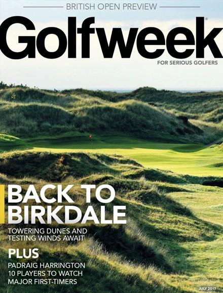 Golfweek Cover - 7/1/2017