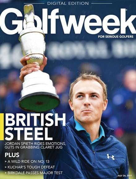 Golfweek Cover - 7/24/2017