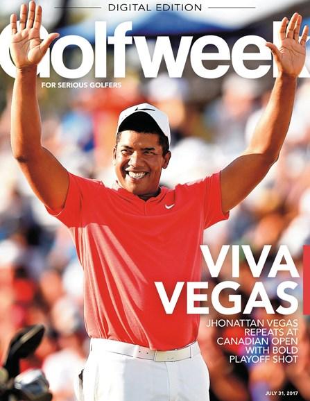 Golfweek Cover - 7/31/2017