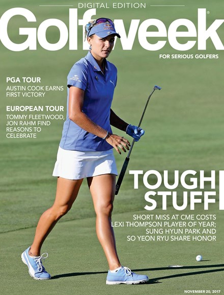 Golfweek Cover - 11/20/2017