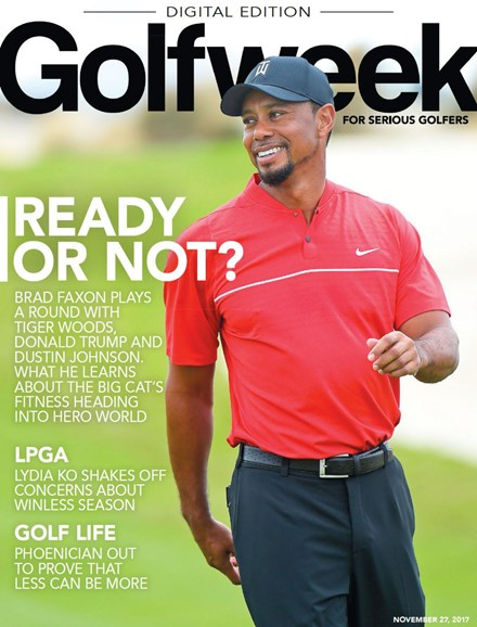 Golfweek Cover - 11/27/2017