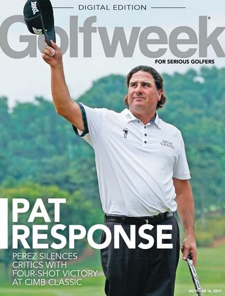 Golfweek Cover - 10/16/2017
