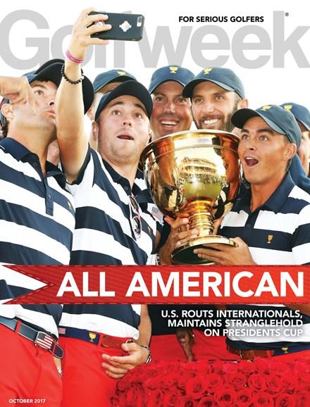 Golfweek Cover - 10/1/2017