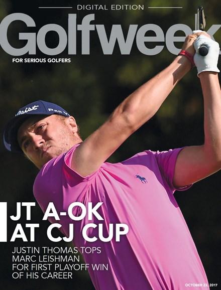 Golfweek Cover - 10/23/2017