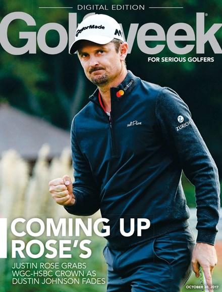 Golfweek Cover - 10/30/2017