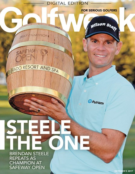 Golfweek Cover - 10/9/2017