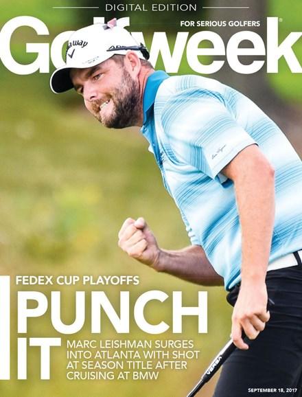 Golfweek Cover - 9/18/2017
