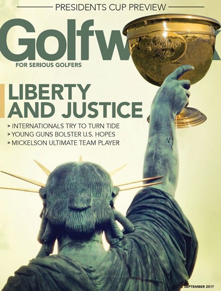 Golfweek Cover - 9/1/2017