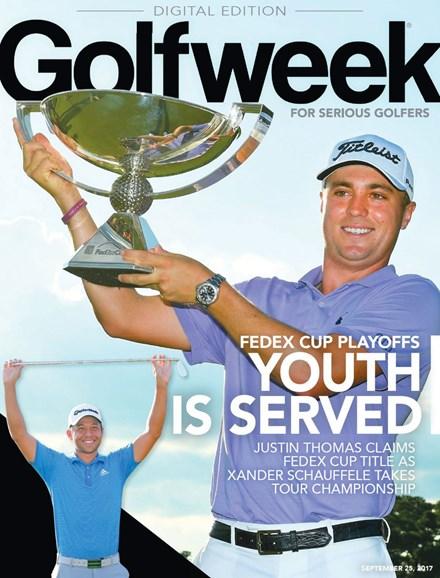 Golfweek Cover - 9/25/2017