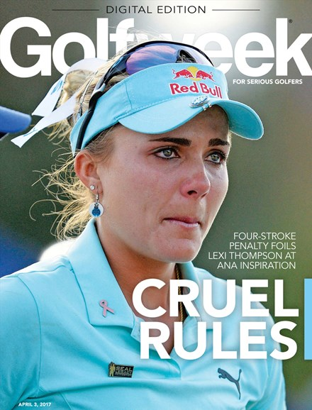 Golfweek Cover - 4/3/2017