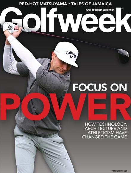 Golfweek Cover - 2/1/2017
