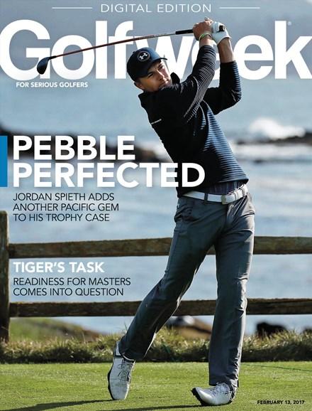 Golfweek Cover - 2/13/2017