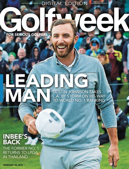 Golfweek Cover - 2/20/2017