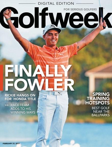 Golfweek Cover - 2/27/2017