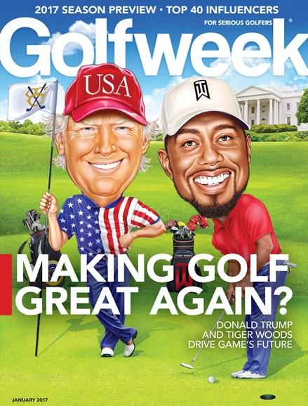 Golfweek Cover - 1/1/2017
