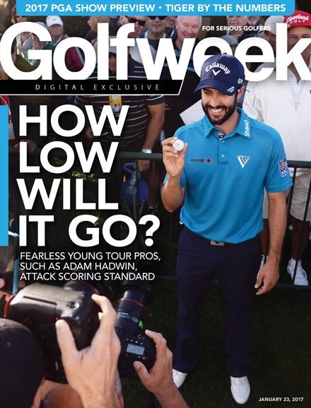 Golfweek Cover - 1/23/2017