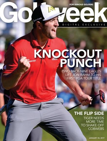 Golfweek Cover - 1/30/2017