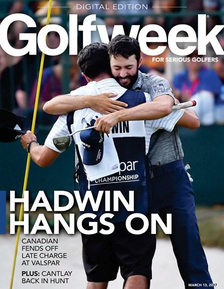 Golfweek Cover - 3/13/2017
