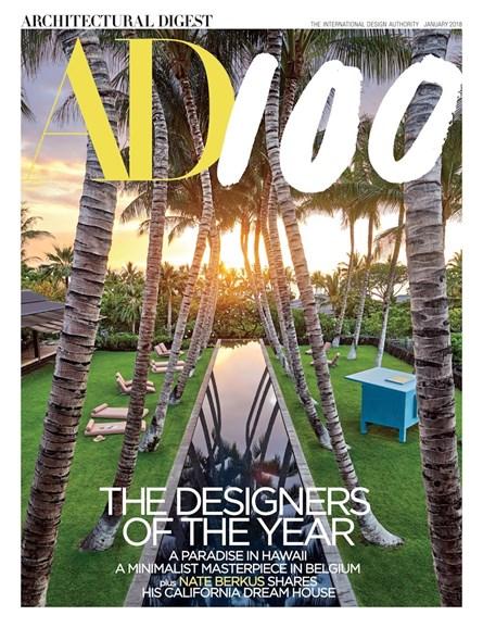 Architectural Digest Cover - 1/1/2018