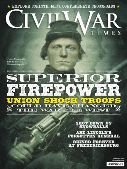 Civil War Times Cover - 2/1/2018