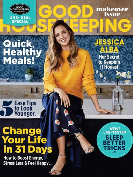 Good Housekeeping Cover - 1/1/2018