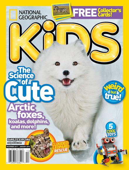 National Geographic Kids Cover - 12/1/2017