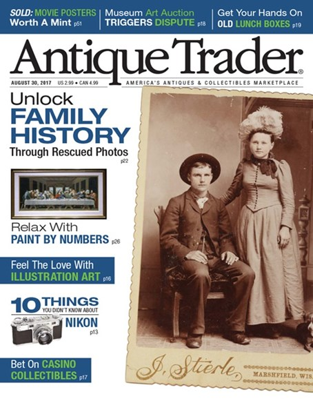 Antique Trader Cover - 8/30/2017