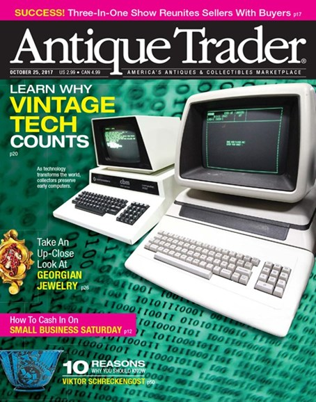 Antique Trader Cover - 10/25/2017