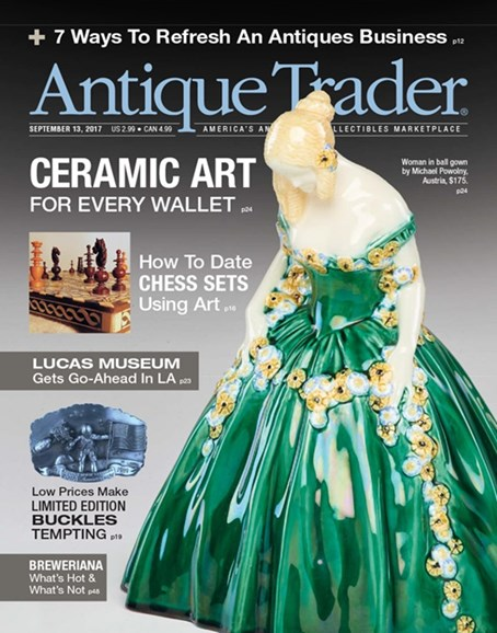Antique Trader Cover - 9/13/2017