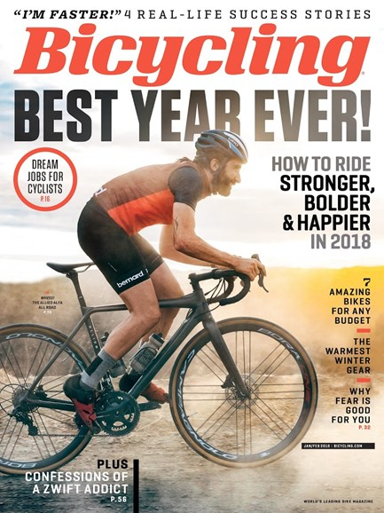 Bicycling Cover - 1/1/2018