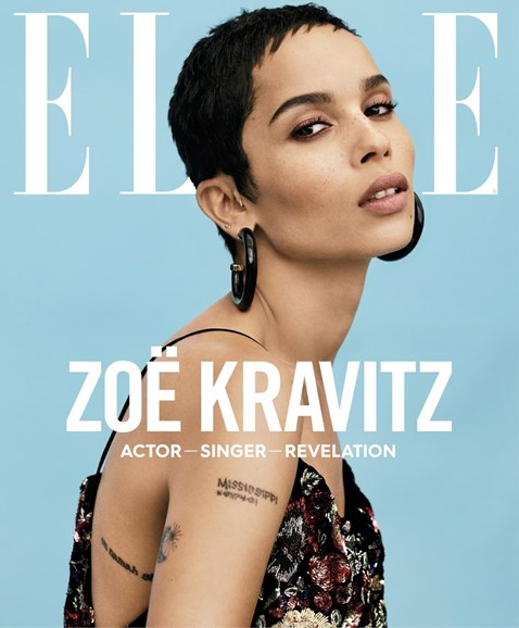 ELLE Cover - 1/1/2018