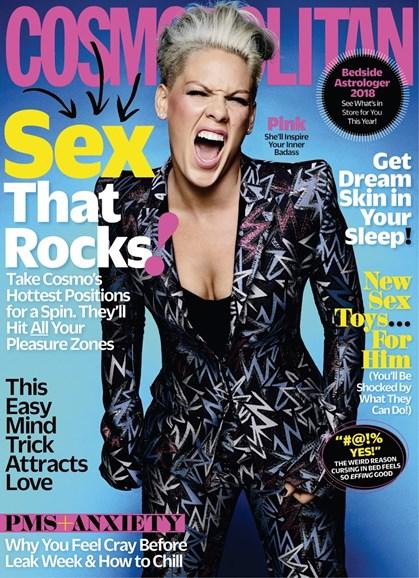 Cosmopolitan Cover - 1/1/2018
