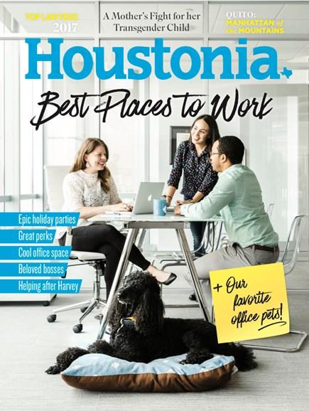 Houstonia Cover - 12/1/2017