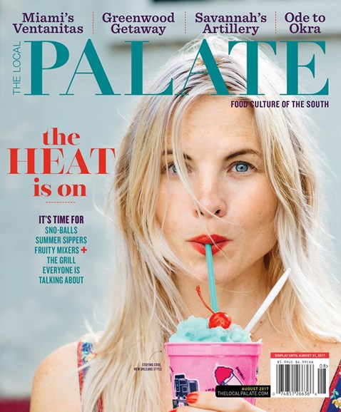 The Local Palate Cover - 8/1/2017