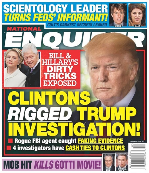 National Enquirer Cover - 12/25/2017