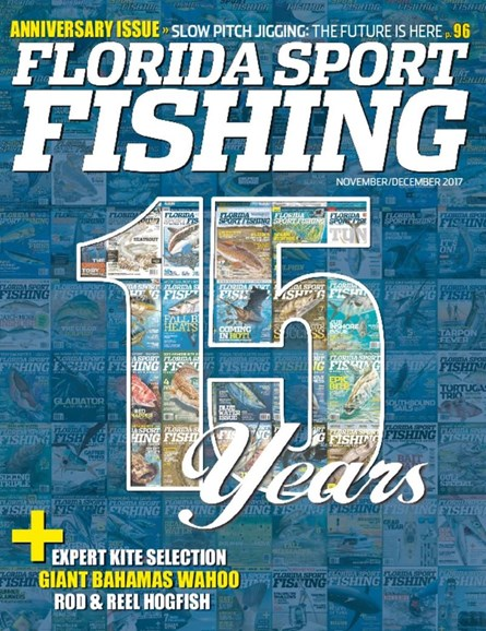 Florida Sport Fishing Cover - 11/1/2017