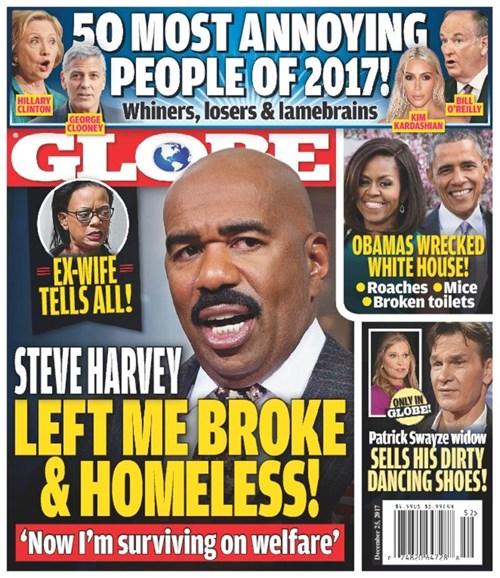 Globe Cover - 12/25/2017