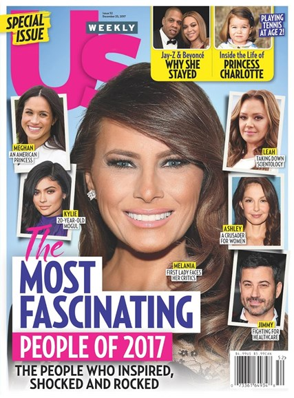 Us Weekly Cover - 12/25/2017